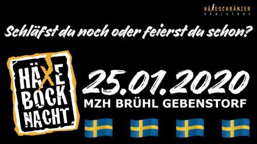 Die Häxäbock Nacht Gebensdorf findet am 25. Januar 2020 statt.