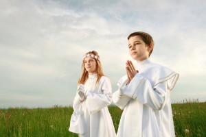 Ein grosses Fest für die ganze Familie – die Erstkommunion