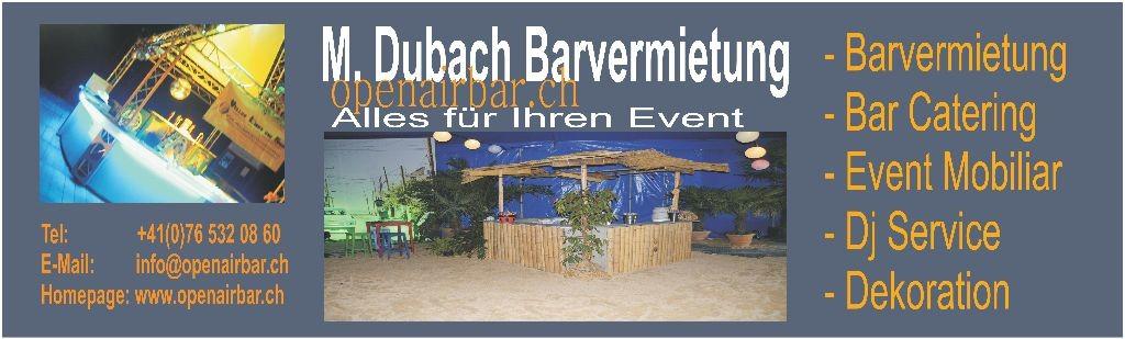 M. Dubach Barvermietung