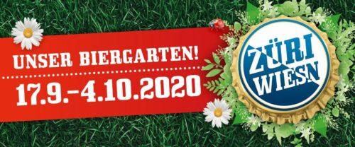 DasZüri Wiesn – Unser Biergarten findet vom 17. September bis 4. Oktober 2020 statt.