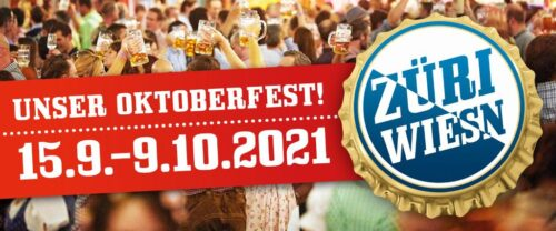 DasZüri Wiesn – Unser Biergarten findet vom 15. September bis 9. Oktober 2021 statt.