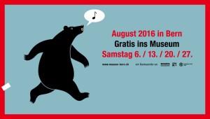 Berner Museen bieten freien Eintritt