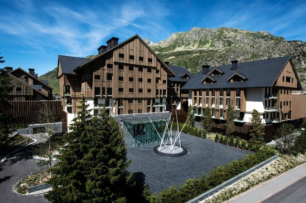 Aussenansicht (Quelle: The Chedi Andermatt)