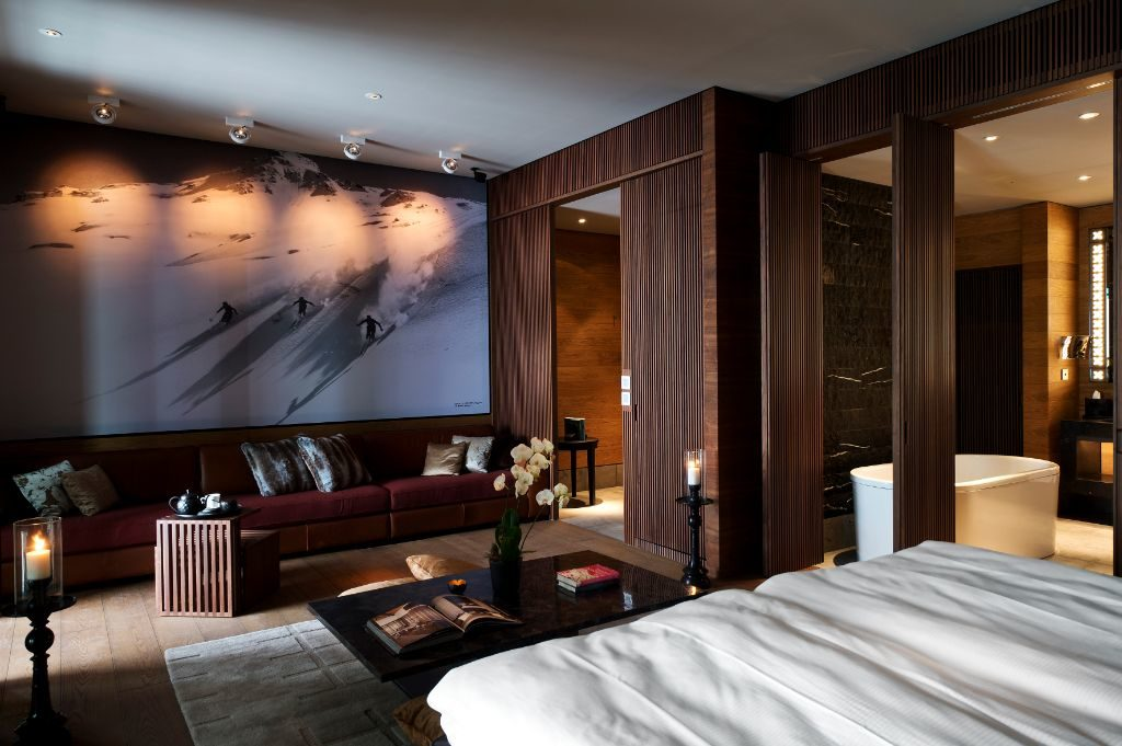 Innenansicht (Quelle: The Chedi Andermatt)