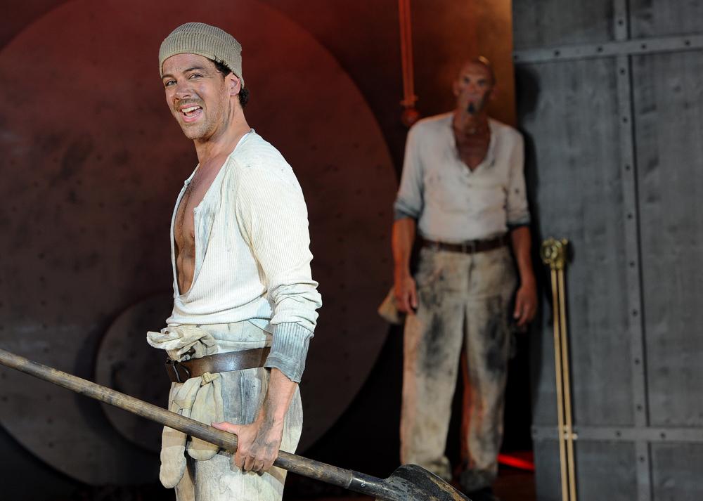 Philipp Haegeli, Frederick Barrett, Thunerseespiele, Titanic, 2012 (Bild: Thunerseespiele AG)