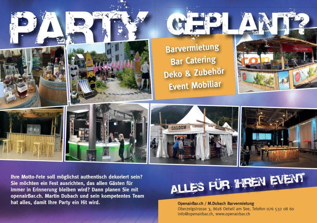 Party geplant Alles für Ihren Event