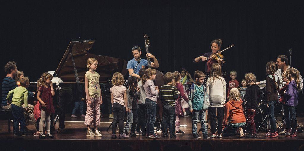 Ein Konzert für Kinder ist in das Musikfestival Bergstadtsommer ebenfalls integriert. (Bild: Ferienland Schwarzwald/Florian Fleig)