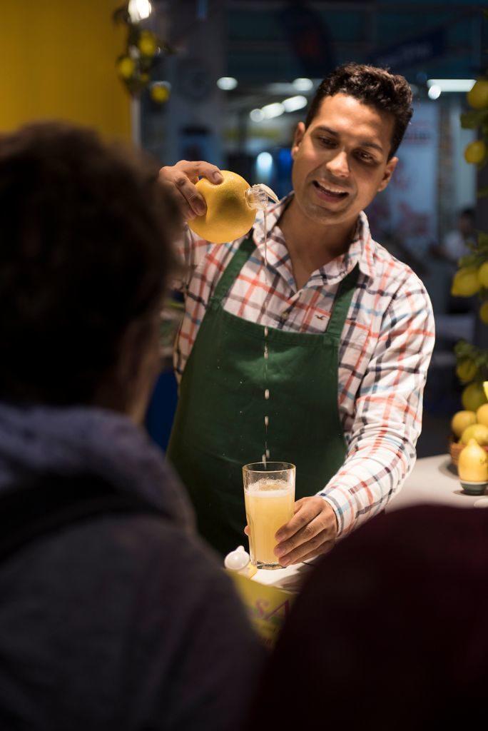 Limonadenherstellung