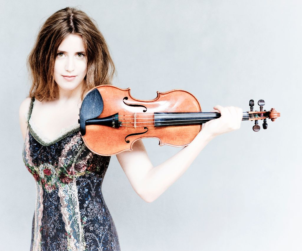 Die norwegische Violinistin Vilde Frang (Bild: obs/Migros-Genossenschafts-Bund Direktion Kultur und Soziales/Marco Borggreve)