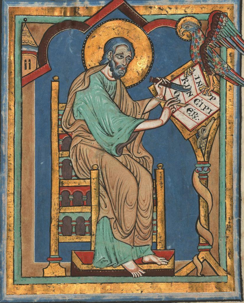 Speyerer Evangelistar, entstanden ca. 1220 (Bild: © Quaternio Verlag Luzern)