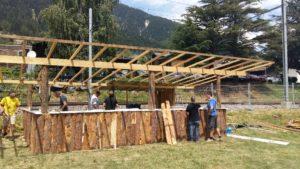 Gommer Open Air Lax: Die Aufbauarbeiten laufen auf Hochtouren