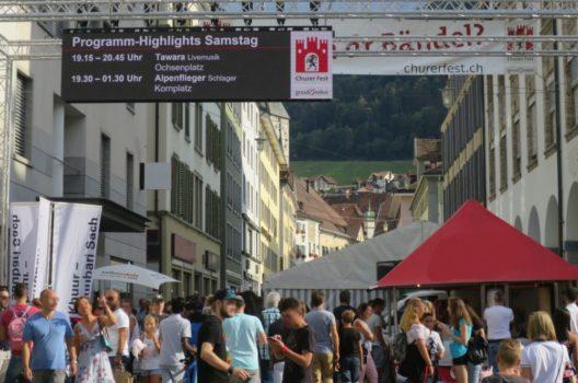 feature post image for Churer Fest 2018 ging friedlich über die Bühne