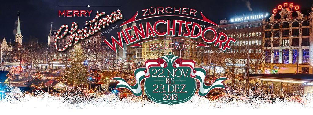Zürcher Wienachtsdorf am Bellevue 2018