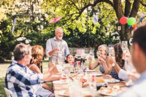 Eine Familienfeier und ihre besonderen Herausforderungen