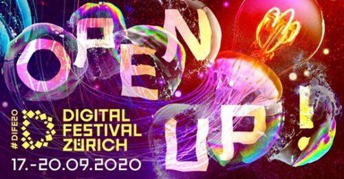 Das Digital Festival Zürich findet vom 17. - 20. September 2020 statt.