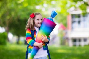 Der erste Schultag – aufregender Schritt in einen neuen Lebensabschnitt