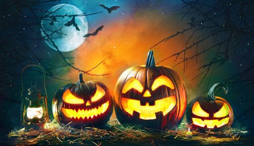 Halloween Dekoration mieten