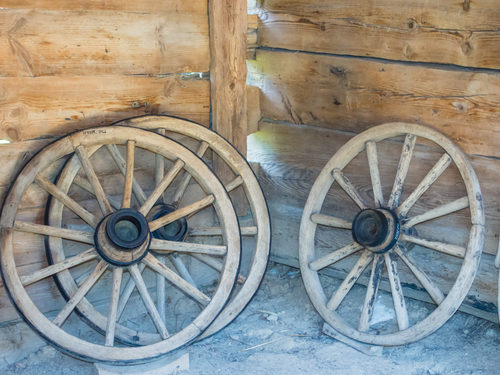 alte Leiterwagen