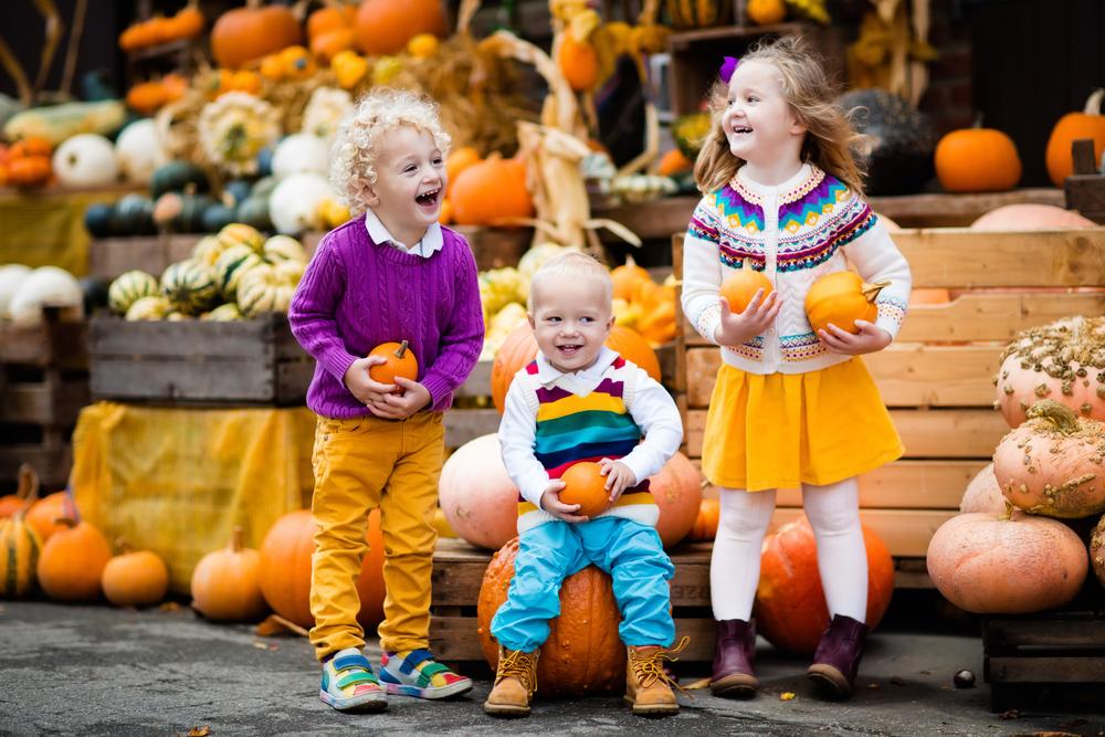 Erntedankfest: Die Kinder ferien mit. (Bild: FamVeld - shutterstock.com)