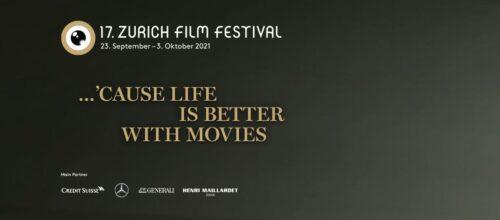 Das 17. Zurich Film Festival findet vom 23. September - 3. Oktober 2021 statt.