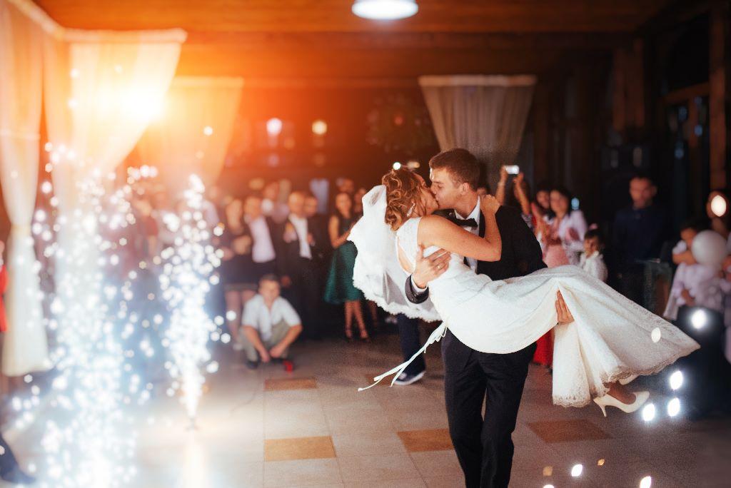 Auch bei einer Hochzeit ohne DJ kann die Party im vollen Gangen sein