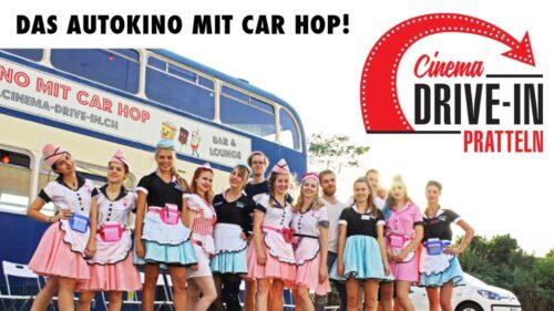 Das Autokino Cinema Drive-in Pratteln findet vom 3. - 25. Juli 2020 statt.