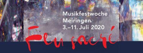 Musikfestwoche Meiringen