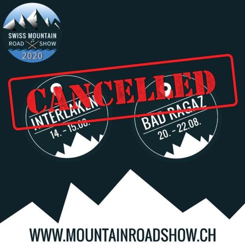 Die Swiss Mountain Road Show findet vom 30. Juli . 22. August 2020 in Steffisburg, Matten bei bei Interlaken und Bad Ragaz statt.