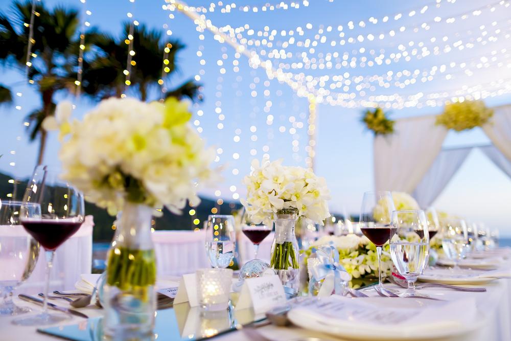 Stilvolles Ambiente beim White Night Dinner