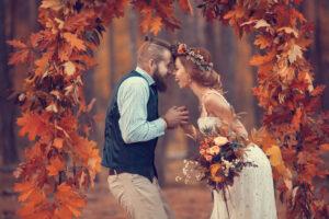Heiraten im goldenen Oktober – die Vorteile einer Herbsthochzeit