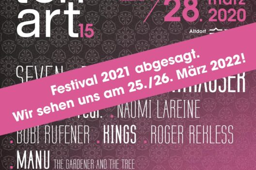 feature post image for 2021 findet kein Tonart Festival statt