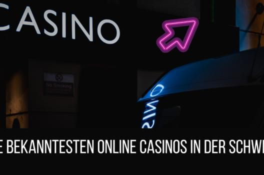 feature post image for Die bekanntesten Online Casinos in der Schweiz 2021