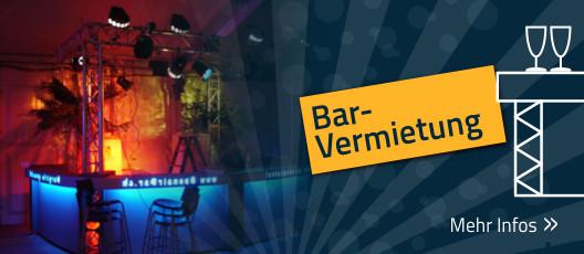 Bar mieten / Bar-Vermietung