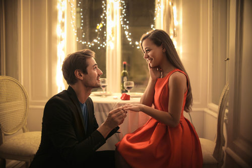 Die Verlobung – romantisches Versprechen vor dem Bund für Leben