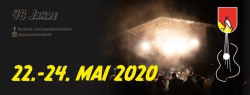 Das 48. Openair Bischofszell findet vom 22 bis 24. Mai 2020 statt.