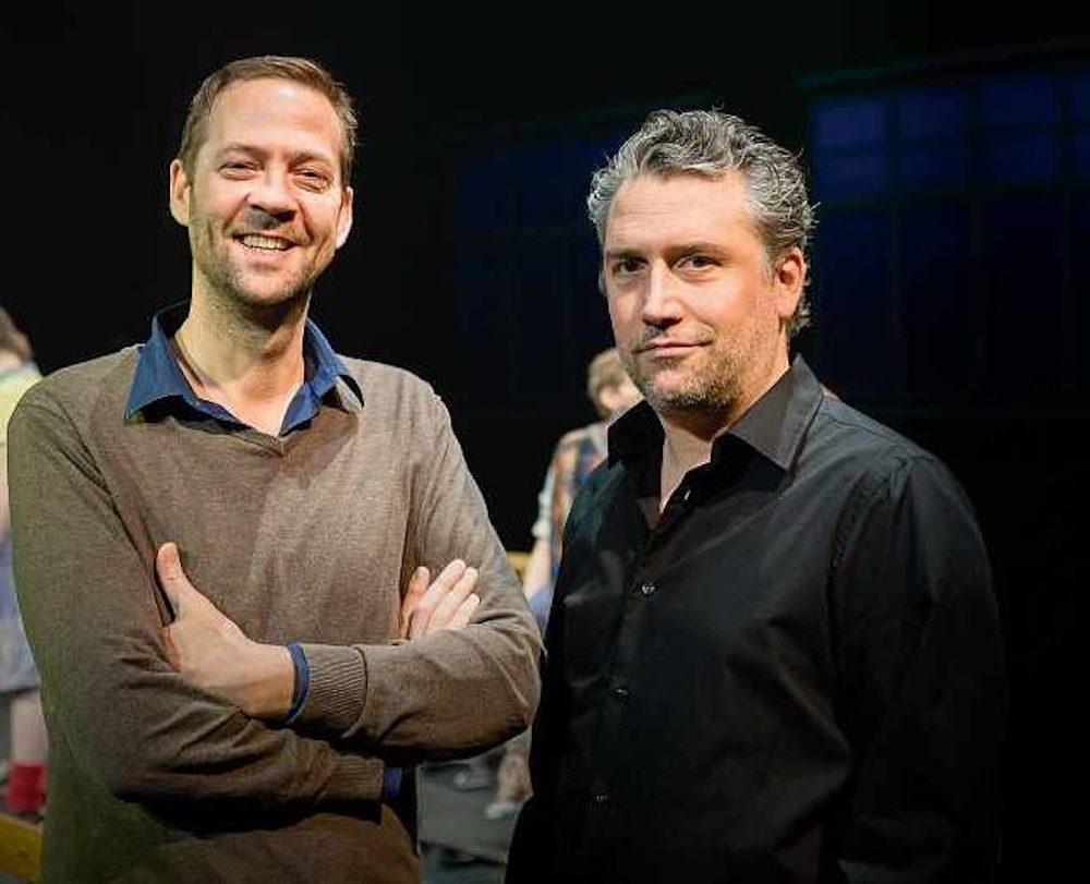 Roman Rilklin und Dominik Flaschka (Bild: Thunerseespiele AG)