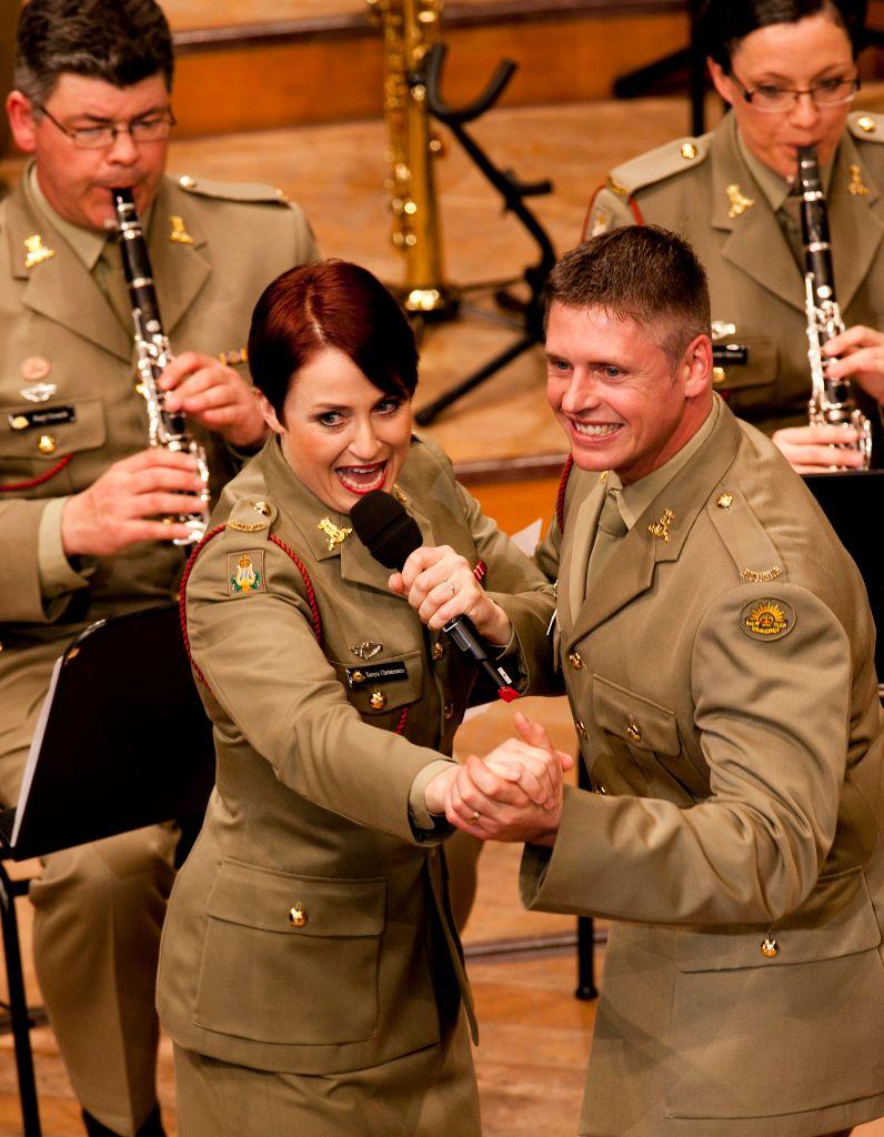 The Band of the Australian Army Band Corps am ersten Basel Tattoo in Concert am Dienstag, 12. Juli 2011 im KKL Luzern (Bild: Patrick Straub)