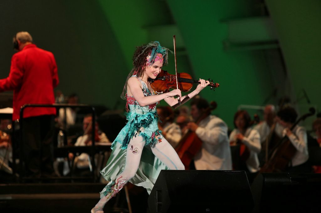 Aus Los Angeles nach St. Georgen – Sandy Cameron ist eine international gefeierte Solistin. (Bild: Ferienland Schwarzwald)