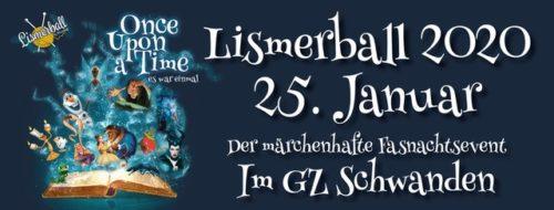 Der Lismerball in Schwanden findet am 25. Januar 2020 statt.