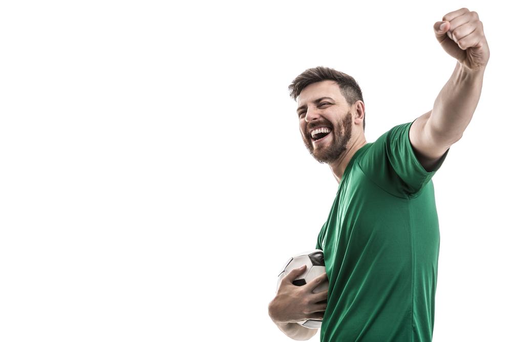 Beste Stimmung auf der Fussballparty (Bild: Filipe Frazao - shutterstock.com)