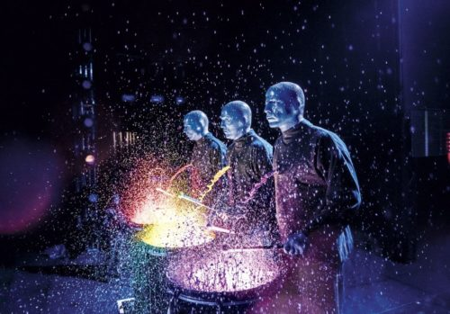BLUE MAN GROUP gastiert vom 21. - 26 Januar 2020 im Musical Theater Basel.